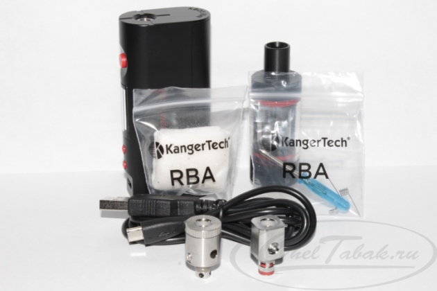 Обзор KangerTech Subox mini